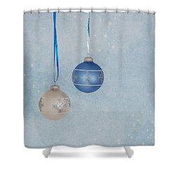 Christmas Elegance Shower Curtain by Kim Hojnacki