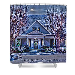 Christmas Memories Shower Curtain