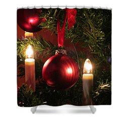 Christmas Spirit Shower Curtain