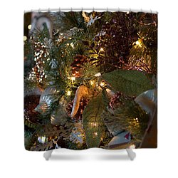 Christmas Tree Splendor Shower Curtain