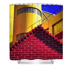 Chromatic Shower Curtain by Wayne Sherriff