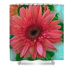 Shower Curtain featuring the photograph Chrysanthemum by Gena Weiser