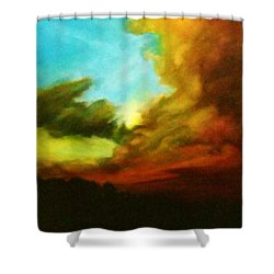 Chuluota Sunset 2 Shower Curtain