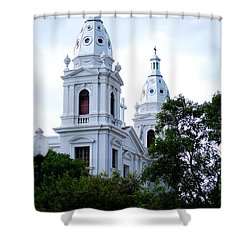 Church In Puerto Rico Shower Curtain