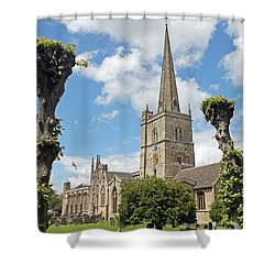 Church Of St John The Baptist Shower Curtain
