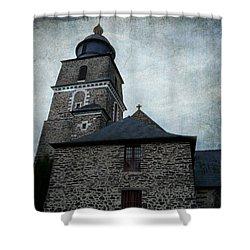Church Saint Malo Shower Curtain