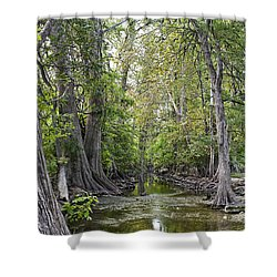 Cibolo Creek - 2 Shower Curtain