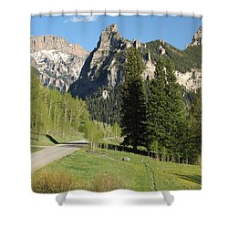 Cimarron Country Shower Curtain by Eric Glaser