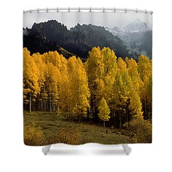 Cimarron Forks Shower Curtain by Eric Glaser