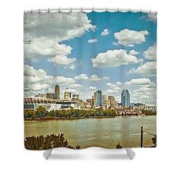 Cincinnati 4 Shower Curtain