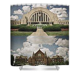 Cincinnati Icons Shower Curtain