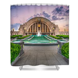 Cincinnati Museum Center Shower Curtain