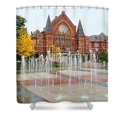 Cincinnati Music Hall 0001 Shower Curtain