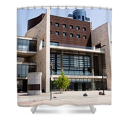 Cincinnati National Underground Railroad Freedom Center Shower Curtain by Paul Velgos