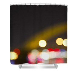 Cincinnati Night Lights Shower Curtain