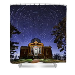 Cincinnati Observatory Shower Curtain by Keith Allen