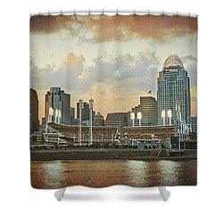 Cincinnati Ohio Vii Shower Curtain