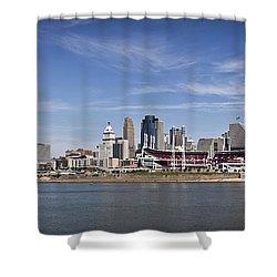 Cincinnati Shower Curtain