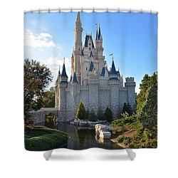 Cinderella's Castle Shower Curtain