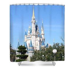 Cinderella's Castle - Disney World Orlando Shower Curtain