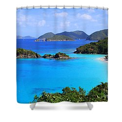 Cinnamon Bay St. John Virgin Islands Shower Curtain