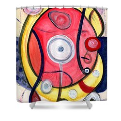 Circle For Lovers Shower Curtain