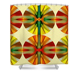 Circle Pattern 1 Shower Curtain by Amy Vangsgard