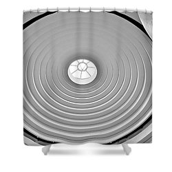 Circular Dome Shower Curtain