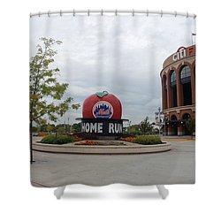 Citi Field Shower Curtain by Rob Hans