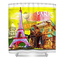 Cities Shower Curtain