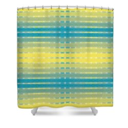 Citrus Warp 3 Shower Curtain