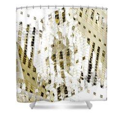 City 3 Shower Curtain