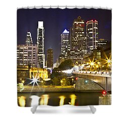 City Alive Shower Curtain