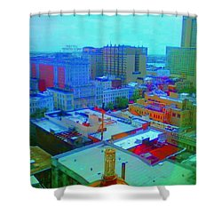 City Blues II Shower Curtain