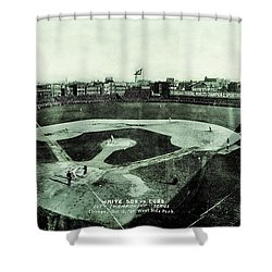 City Championship 1909 Shower Curtain by Benjamin Yeager