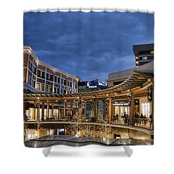Shower Curtain featuring the photograph City Creek by Ely Arsha