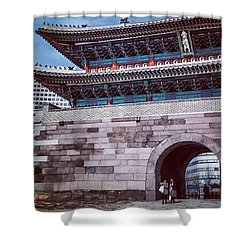 City Gate, Seoul, South Korea. This Shower Curtain