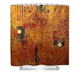 City Lights Shower Curtain by Darren Robinson
