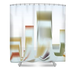 City Mesa Shower Curtain