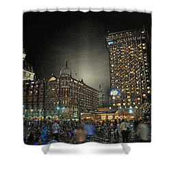 City Never Sleeps Shower Curtain