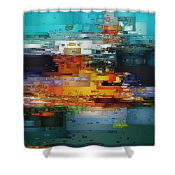 City Of Color 1 Shower Curtain