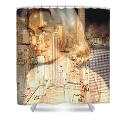 City Of Grace Shower Curtain by Seth Weaver