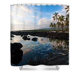 City Of Refuge Beach Shower Curtain