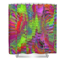 City Of Stairways Shower Curtain