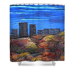 City Of Trees Shower Curtain