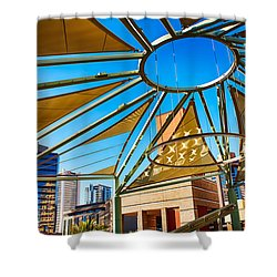 City Shapes Shower Curtain