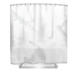 City Stair Shower Curtain