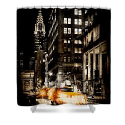 City Streets  Shower Curtain