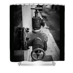 City Valves Shower Curtain