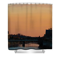 Citys Scape Shower Curtain